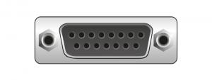 Sub-D 15 Pin Gameport