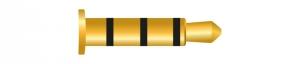 Klinke 4 Pin 2,5 mm