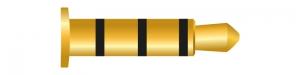 Klinke 4 Pin 3,5 mm