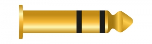 Klinke 3 Pin 6.35 mm