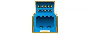 USB 3.0 B