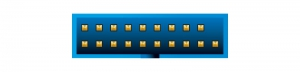 USB 3.0 Pfostenstecker 19 Pin