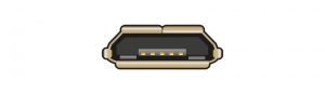 USB 2.0 Micro-B (MHL, SlimPort / MyDP, OTG)
