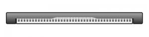 ZIF 40 Pin