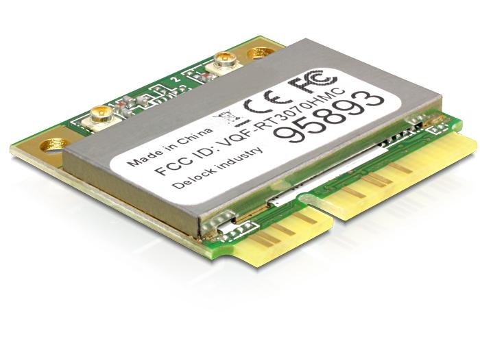 Delock Produits 95893 Delock Mini PCI Express WLAN USB 2 0