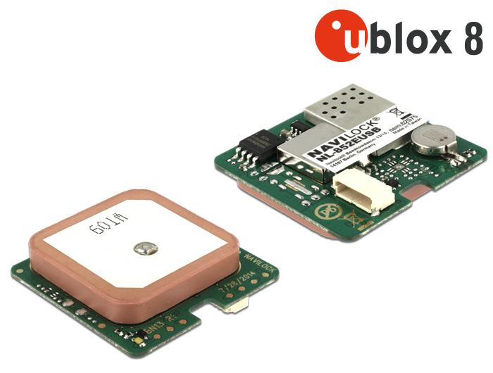 Navilock Products 62575 Navilock NL-852EUSB PPS u-blox 8