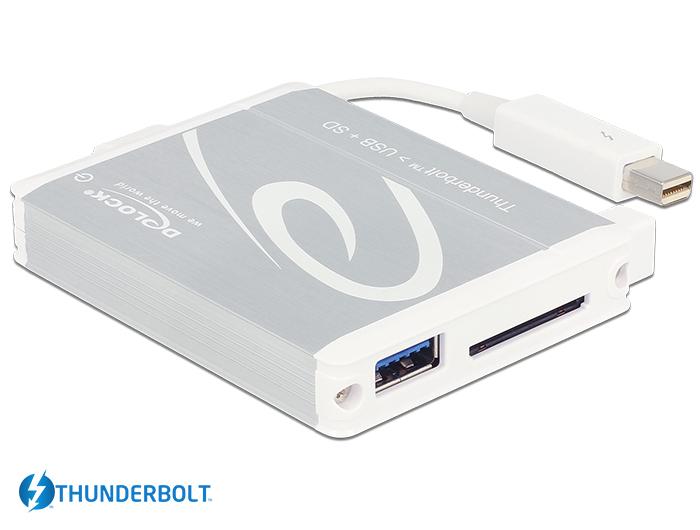 Delock Products 91723 Delock Thunderbolt™ Adapter > 1 x USB