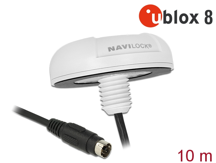 Navilock Products 62530 Navilock NL-8222MP MD6 Serial PPS