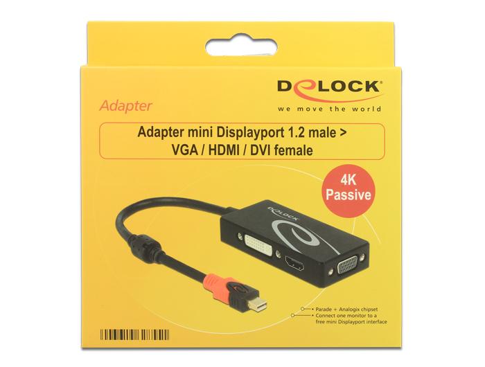 Delock Products 62855 Delock Adapter mini DisplayPort 1 2
