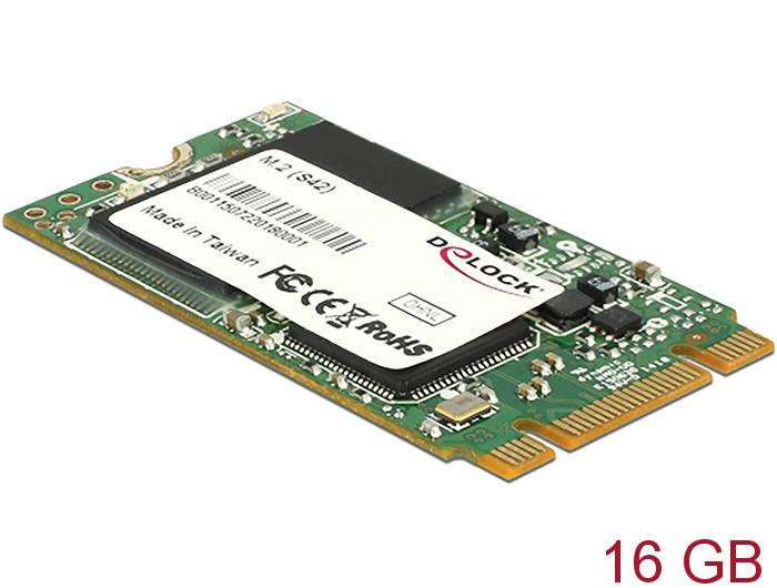 da1134a1ee 54789 Delock M.2 SATA 6 Gb s SSD Industrial 16 GB (S42) Toshiba MLC