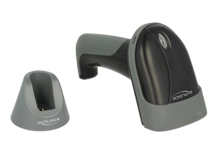 delock produkte 90280 delock bluetooth barcode scanner 1d mit ladestation linienscanner. Black Bedroom Furniture Sets. Home Design Ideas