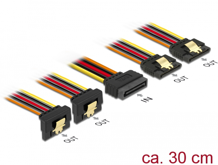 Delock Products 60151 Delock Cable SATA 15 pin power plug