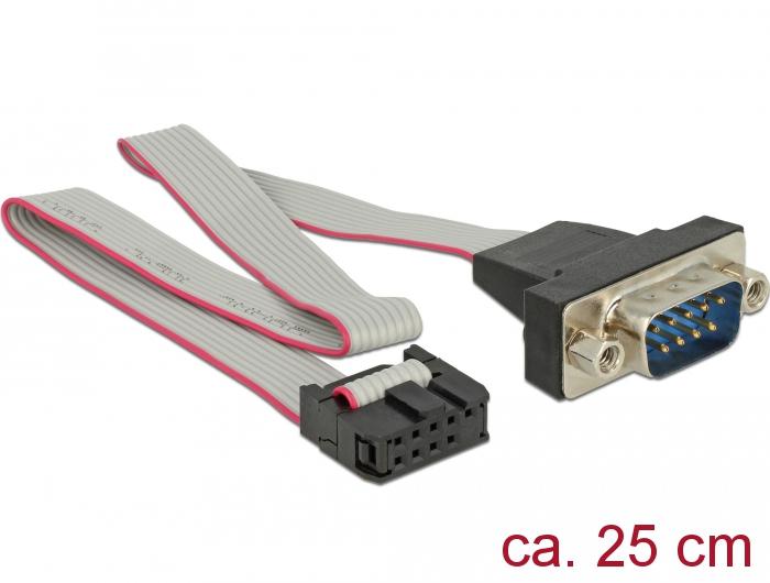Tragant Produkte 89900 Delock Kabel RS-232 Seriell Pfostenbuchse zu ...