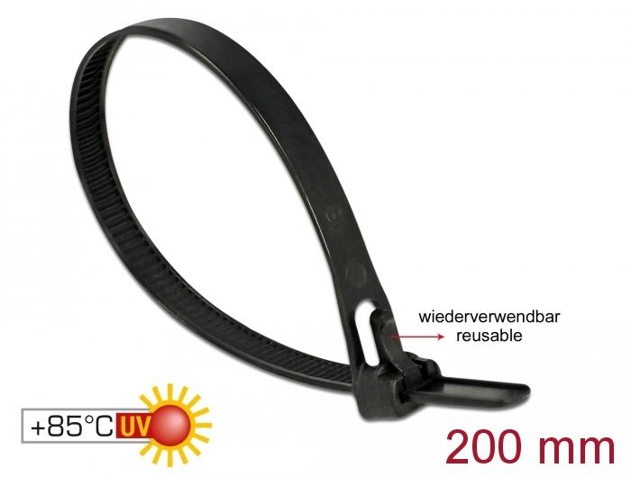 34ce4df1cd02 Delock Products 18752 Delock Cable ties reusable heat-resistant L ...
