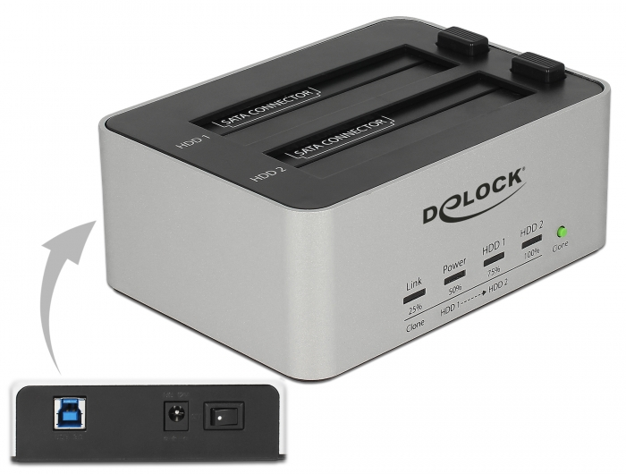 Delock Products 63991 Delock USB 3 0 Dual Docking Station
