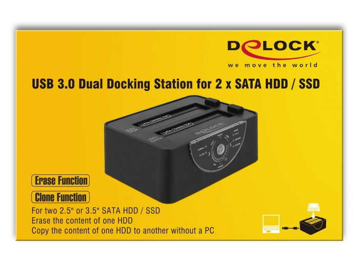 Delock Products 63992 Delock USB 3 0 Dual Docking Station