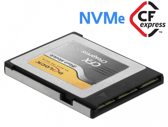Delock Products 54065 Delock CFexpress memory card 128 GB